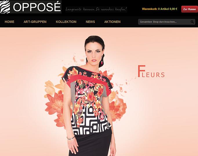 Opposé Fashion B2B-Shop