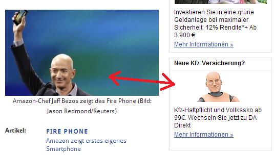 Jeff Bezos Werbefail