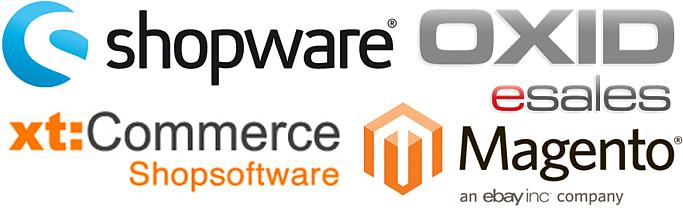 E-Commerce Systemauswahl: Vier mittelgroße Lösungen vorgestellt