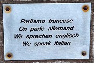 Sprachen Mischmasch