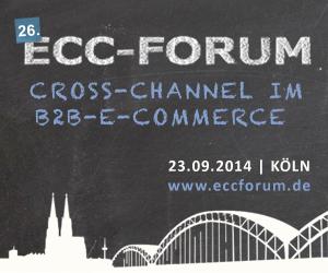 Jetzt anmelden: ECC-Forum zu Cross-Channel im B2B-E-Commerce