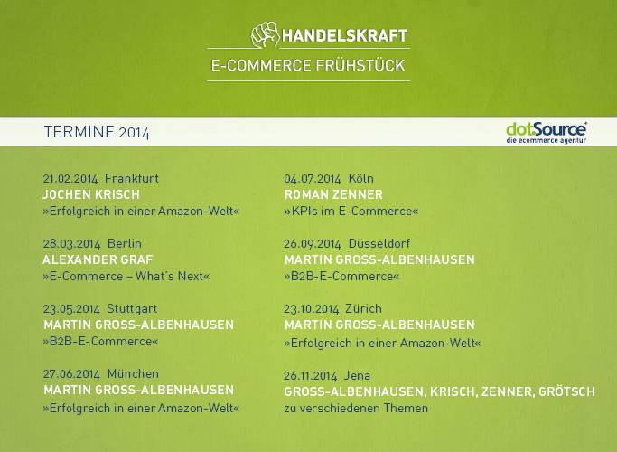 Handelskraft E-Commerce Frühstück 2014