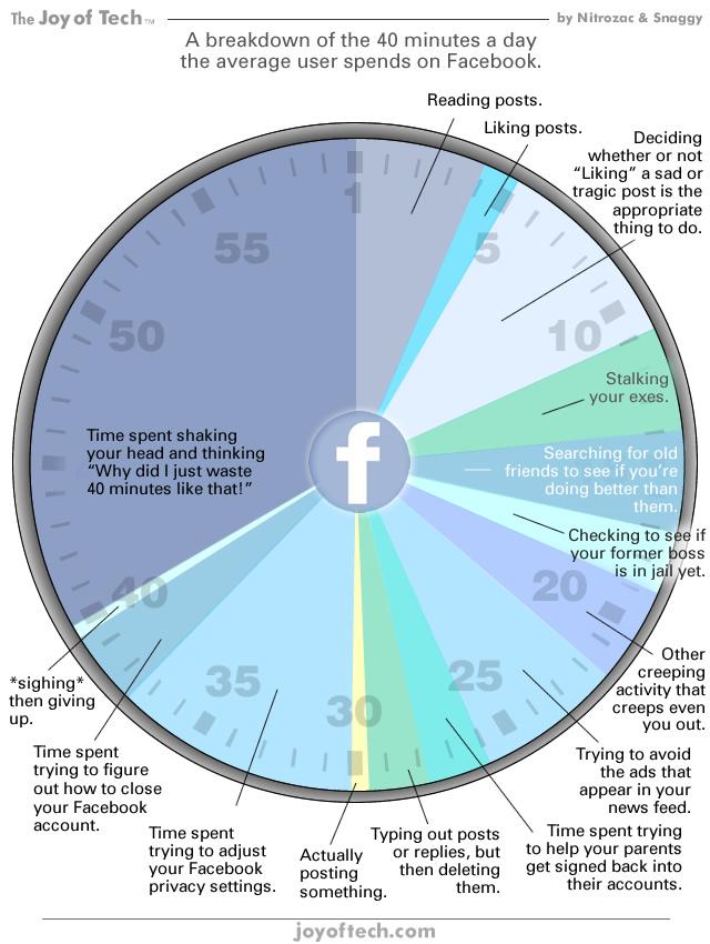 Die Wahrheit über Facebook-Besuche