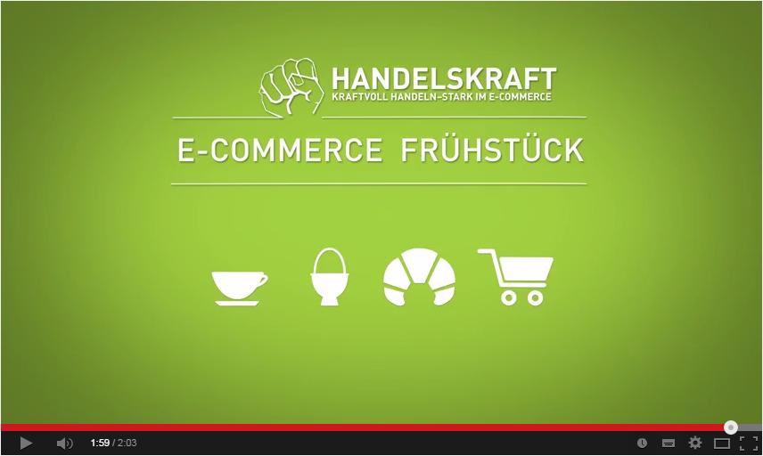 Video-Rückblick auf das Handelskraft #B2B E-Commerce Frühstück in Düsseldorf