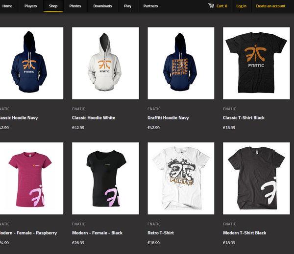 Fnatic-Shop