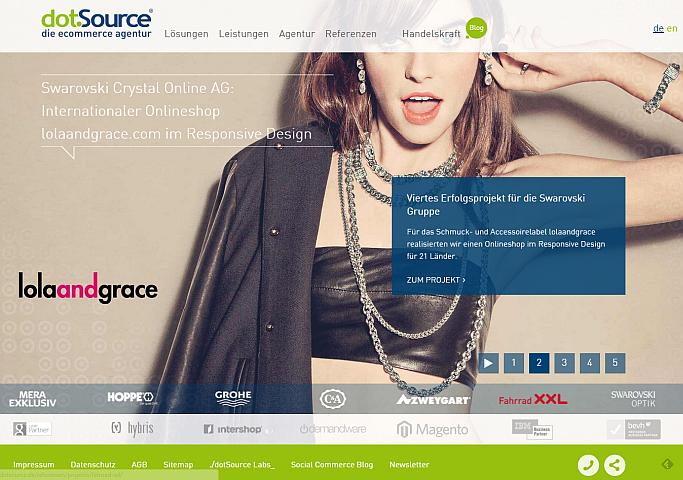 dotSource Homepage