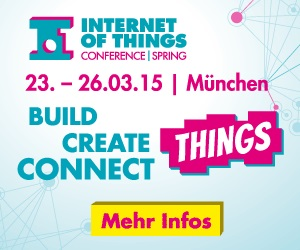 Wir verlosen 2 Tickets für die Internet of Things Conference!