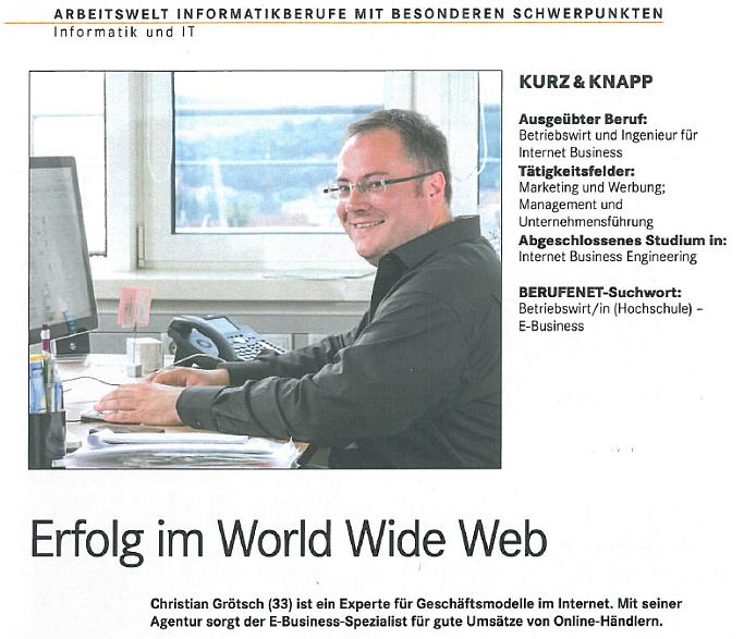 Wie wird man eigentlich Geschäftsführer einer E-Commerce Agentur, Christian Grötsch?