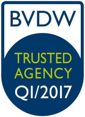 BVDW Logo Trusted Agency
