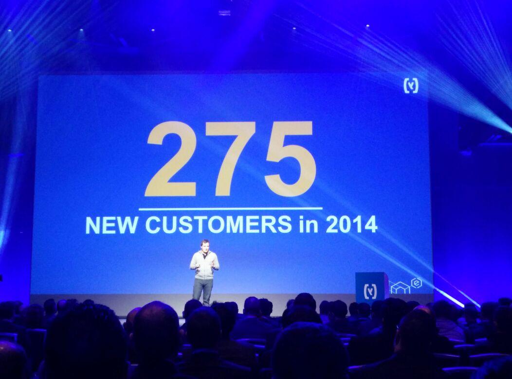 SAP Hybris Partnertag, 275 Neukunden 2014