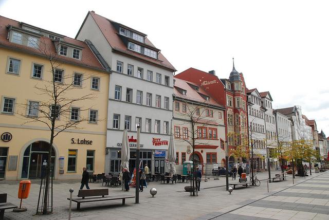 Jena Einkaufsstrasse