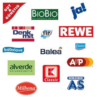 Beliebtesten Eigenmarken in Deutschland