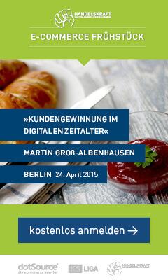 Mit Adobe starten wir das 3. Handelskraft E-Commerce Frühstück in Berlin