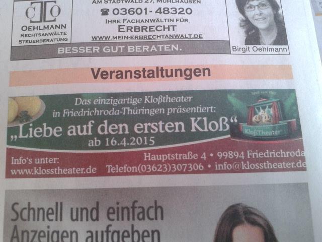 Thüringer Kloss Theater
