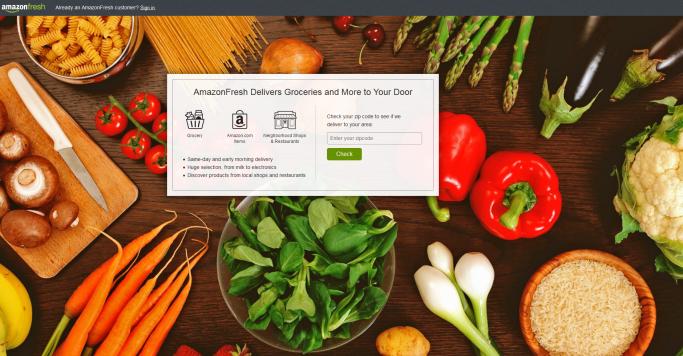 Lebensmittel-Onlinehandel: Bei der Amazons-Strategie für Europa hakt es [5 Lesetipps]