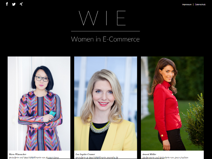 "Neue Initiative: Was wollen die ""Women in E-Commerce""?"