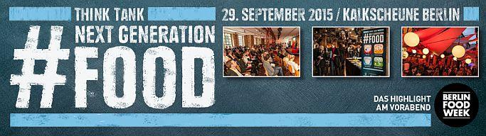 Lebensmittel E-Commercler jetzt anmelden: Next Generation Food 2015