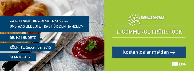 Wir eröffnen die K5 und die dmexco mit einem Handelskraft E-Commerce Frühstück [In eigener Sache]