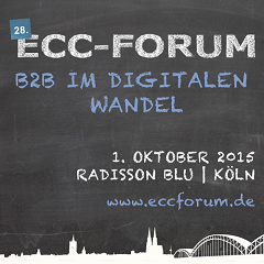 B2B im digitalen Zeitalter: Jetzt anmelden zum ECC Forum am 1.10. in Köln