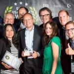 So sehen Sieger aus: Lensbest.de gewinnt den Shop Usability Award 2015 in der Kategorie Wellness, Beauty und Gesundheit