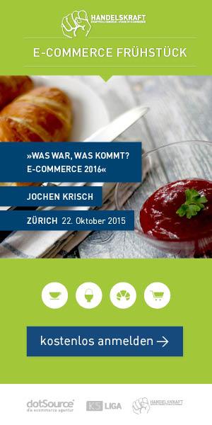 Last Call für Zürich: Am 22.10. kommt das Handelskraft E-Commerce Frühstück in die Schweiz