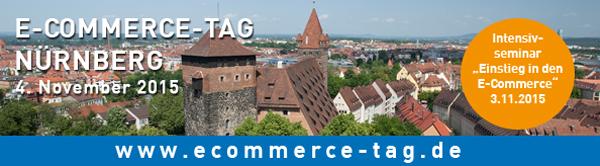 Der Einzelhandel und die Chancen des digitalen Wandels: E-Commerce-Tag Nürnberg am 4.11.2015