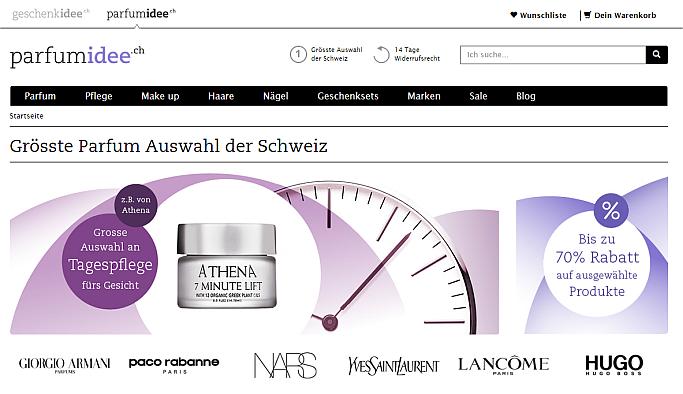 E-Commerce für alle Sinne: dotSource realisiert parfumidee.ch mit Magento