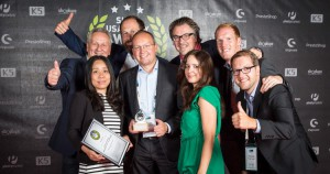 Conny beim Shop Usability Award