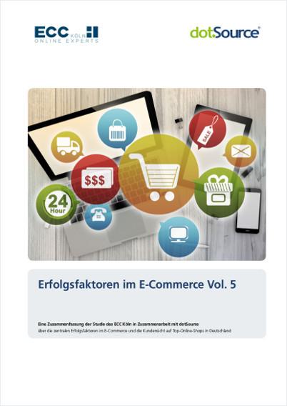 Erfolgsfaktoren im E-Commerce Vol. 5 – Studie jetzt erhältlich