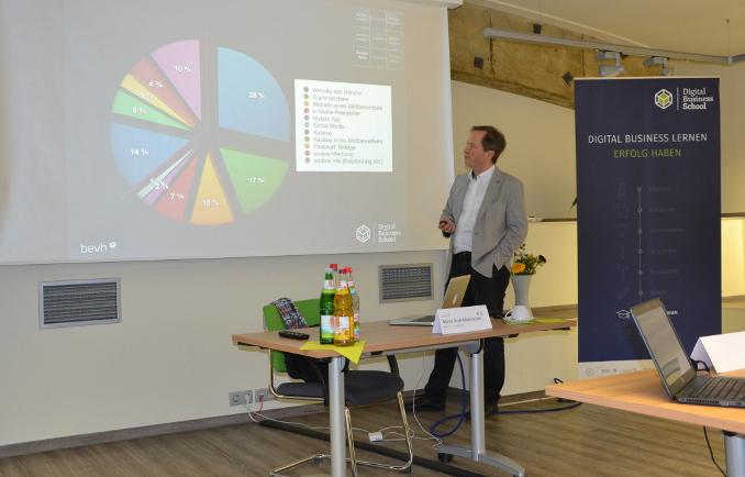 Das Seminar »E-Commerce Manager« 2016 ist mit Martin Groß-Albenhausen gestartet