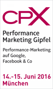 Event-Tipp: CPX Performance Marketing Gipfel in München