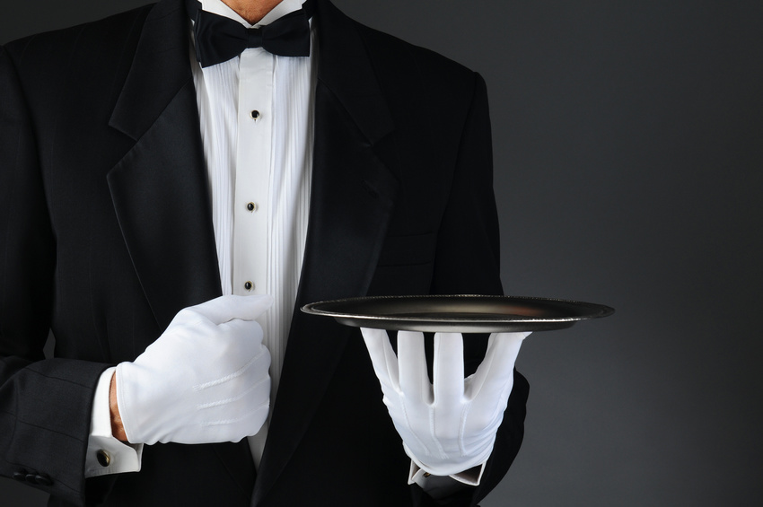 E-Commerce wird zum Butler. Quelle: fotolia