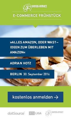 Handelskraft E-Commerce-Frühstück Berlin am 30. September