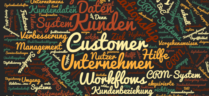 CRM System Customer Relationship Management