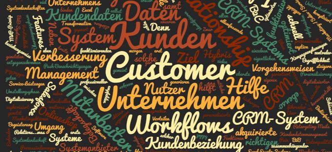 CRM System Customer Relationship Management