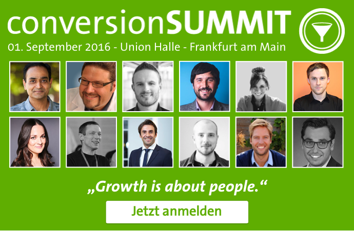 Quelle: conversionSUMMIT