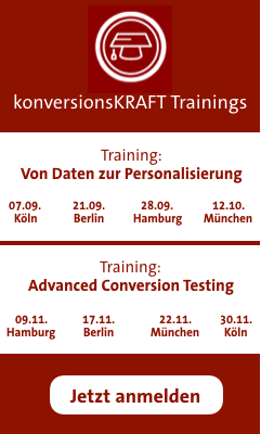 Trainings von konversionsKRAFT