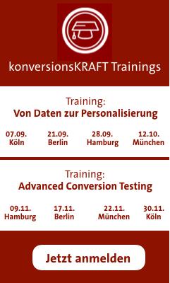 Trainings von konversionsKRAFT
