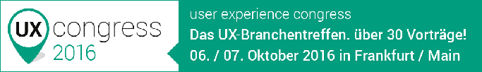 UX Congress 2016