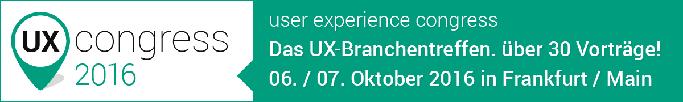 UX Congress 2016