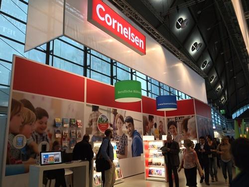 Der Stand von Cornelsen bei der 68. Frankfurter Buchmesse