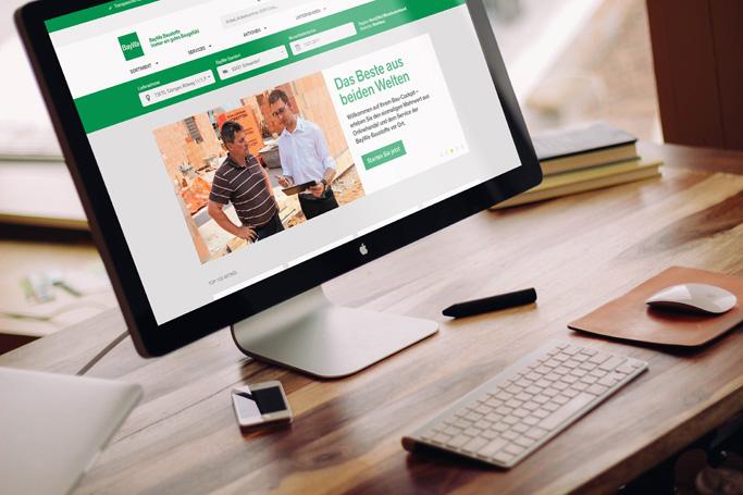 B2B-Onlineshop Baywa Baustoffe