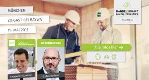 BAU.digital – Last Call für unser Digital-Frühstück am 19. Mai in München