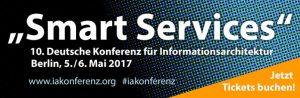 """Smart Services"" – IA-Konferenz am 5. und 6. Mai [Eventtipp]"