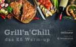 K5 Warm-up »Grill'n'Chill« am 21. Juni [Eventtipp]