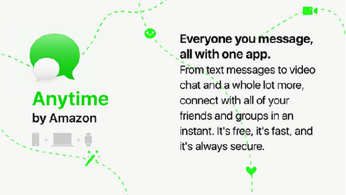 Amazon Anytime Messenger