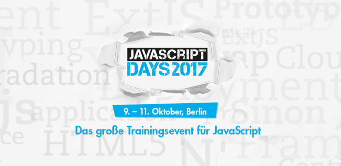 Quelle: JavaScript Days