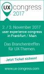 Herausforderungen für UX-Designer und wie man sie bewältigen kann – UX Congress 2017 [Eventtipp]