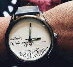Netzfund: Pünktlichkeit kenn ich nicht…