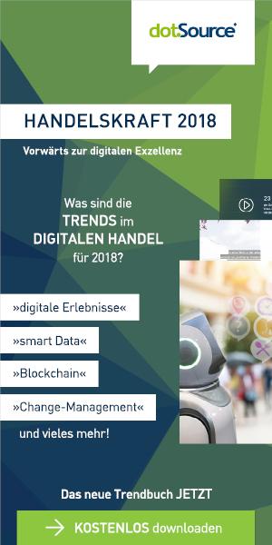 Banner - Handelskraft 2018 - Vorwärts zur digitalen Exzellenz